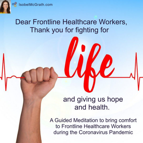 Image for Guided Meditation for Frontline Healthcare Workers during the Coronavirus Pandemic