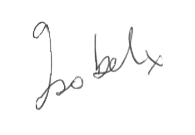 Isobel McGrath Signature
